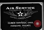 Image of gliders Clermont Ferrand France, 1922, second 1 stock footage video 65675042525