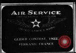 Image of gliders Clermont Ferrand France, 1922, second 2 stock footage video 65675042525