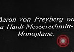 Image of Baron Von Freyberg Germany, 1922, second 1 stock footage video 65675042530