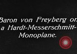 Image of Baron Von Freyberg Germany, 1922, second 2 stock footage video 65675042530