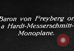 Image of Baron Von Freyberg Germany, 1922, second 4 stock footage video 65675042530