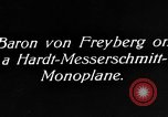Image of Baron Von Freyberg Germany, 1922, second 7 stock footage video 65675042530