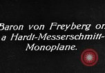 Image of Baron Von Freyberg Germany, 1922, second 8 stock footage video 65675042530