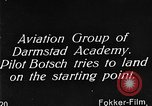 Image of monoplane glider Germany, 1922, second 3 stock footage video 65675042532