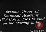Image of monoplane glider Germany, 1922, second 5 stock footage video 65675042532
