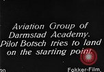 Image of monoplane glider Germany, 1922, second 8 stock footage video 65675042532