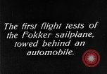 Image of Fokker sailplane Germany, 1922, second 1 stock footage video 65675042533