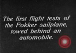 Image of Fokker sailplane Germany, 1922, second 2 stock footage video 65675042533