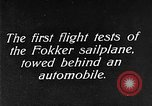 Image of Fokker sailplane Germany, 1922, second 4 stock footage video 65675042533