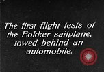 Image of Fokker sailplane Germany, 1922, second 5 stock footage video 65675042533