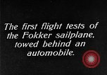 Image of Fokker sailplane Germany, 1922, second 11 stock footage video 65675042533