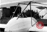 Image of Fokker biplane Germany, 1922, second 10 stock footage video 65675042534
