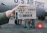 Image of United States KC-135 A aircraft Okinawa Ryukyu Islands, 1965, second 1 stock footage video 65675042557