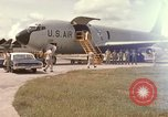 Image of United States KC-135 A aircraft Takhli Thailand, 1966, second 1 stock footage video 65675042568