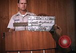 Image of United States Air Force officer Takhli Thailand, 1970, second 3 stock footage video 65675042573