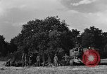 Image of United States Army African-American field artillery gun crew Mantes de Gassicourt France, 1944, second 9 stock footage video 65675042597