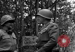 Image of Lieutenant General Patton Mantes La Ville France, 1944, second 5 stock footage video 65675042602