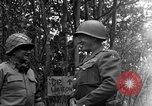 Image of Lieutenant General Patton Mantes La Ville France, 1944, second 6 stock footage video 65675042602