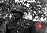 Image of Lieutenant General Patton Mantes La Ville France, 1944, second 9 stock footage video 65675042602