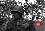 Image of Lieutenant General Patton Mantes La Ville France, 1944, second 10 stock footage video 65675042602