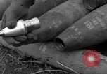 Image of United States 969th Field Artillery Unit Luxembourg, 1944, second 6 stock footage video 65675042608