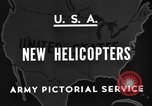 Image of United States XR-8 helicopter United States USA, 1945, second 6 stock footage video 65675042624
