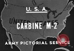 Image of M 2 Carbine United States USA, 1945, second 1 stock footage video 65675042625