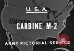 Image of M 2 Carbine United States USA, 1945, second 3 stock footage video 65675042625