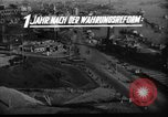 Image of reconstruction Hamburg Germany, 1949, second 2 stock footage video 65675042627