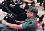 Image of 37 mm automatic air defense gun Vietnam, 1968, second 9 stock footage video 65675042706