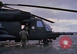 Image of HH-53 helicopter rescue operation Vietnam, 1970, second 5 stock footage video 65675042712