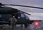 Image of United States HH-53 helicopter rescue operations Vietnam, 1970, second 4 stock footage video 65675042714