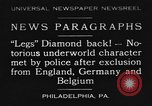 Image of Jack Diamonds Philadelphia Pennsylvania USA, 1930, second 1 stock footage video 65675042732