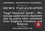 Image of Jack Diamonds Philadelphia Pennsylvania USA, 1930, second 4 stock footage video 65675042732