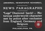 Image of Jack Diamonds Philadelphia Pennsylvania USA, 1930, second 5 stock footage video 65675042732