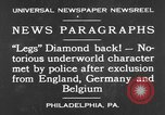 Image of Jack Diamonds Philadelphia Pennsylvania USA, 1930, second 7 stock footage video 65675042732