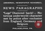 Image of Jack Diamonds Philadelphia Pennsylvania USA, 1930, second 8 stock footage video 65675042732