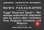 Image of Jack Diamonds Philadelphia Pennsylvania USA, 1930, second 9 stock footage video 65675042732