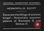 Image of Egyptian workers Hermopolis Egypt, 1930, second 1 stock footage video 65675042733