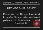 Image of Egyptian workers Hermopolis Egypt, 1930, second 7 stock footage video 65675042733
