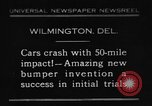 Image of bumper Wilmington Delaware USA, 1930, second 1 stock footage video 65675042735