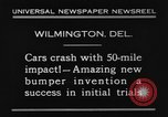 Image of bumper Wilmington Delaware USA, 1930, second 2 stock footage video 65675042735
