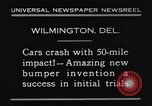 Image of bumper Wilmington Delaware USA, 1930, second 4 stock footage video 65675042735