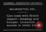 Image of bumper Wilmington Delaware USA, 1930, second 5 stock footage video 65675042735