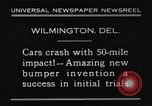 Image of bumper Wilmington Delaware USA, 1930, second 8 stock footage video 65675042735