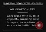 Image of bumper Wilmington Delaware USA, 1930, second 9 stock footage video 65675042735
