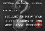 Image of National Guardsmen Kincaid Illinois USA, 1933, second 1 stock footage video 65675042738