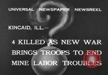 Image of National Guardsmen Kincaid Illinois USA, 1933, second 3 stock footage video 65675042738