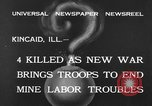 Image of National Guardsmen Kincaid Illinois USA, 1933, second 8 stock footage video 65675042738