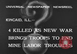Image of National Guardsmen Kincaid Illinois USA, 1933, second 9 stock footage video 65675042738